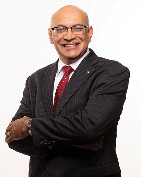 Sanjay Raman, Dean of the UMass Amherst College of Engineering