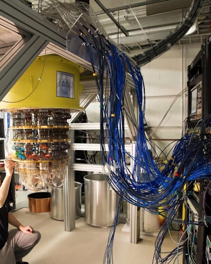 Google quantum computer